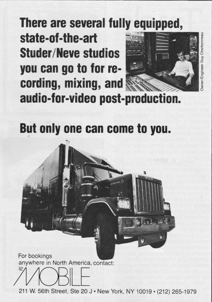 Le Mobile 1983 Mix Ad edit